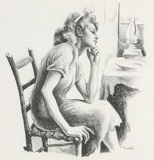 AFTER THOMAS HART BENTON (1889-1975) LITHOGRAPH