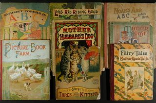 (8) EARLY LARGE FORMAT CHILDREN'S PICTURE BOOKS