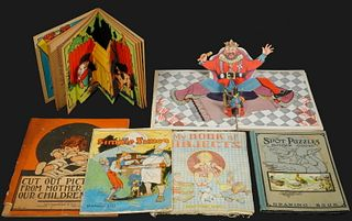 (8) EARLY SPECIALITY FORMAT CHILDREN'S PICTURE BOOKS