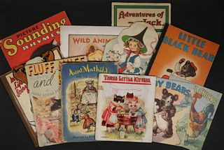 (11) LARGE FOLIO CHILDRENS BOOKS