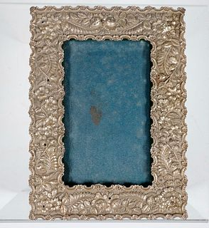 VICTORIAN SILVER FRAME BY S. KIRK & SON
