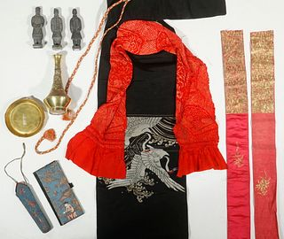(10) ASSORTED ASIAN ACCESSORIES
