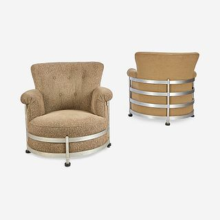 "Warren McArthur (American, 1885-1961), Pair of ""Tulip"" Chairs Model #1080, Warren McArthur Corporation, USA, circa 1935"
