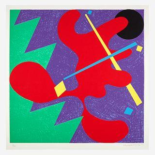 Elizabeth Murray (American, 1940-2007), , Untitled (Mostly Mozart Festival)