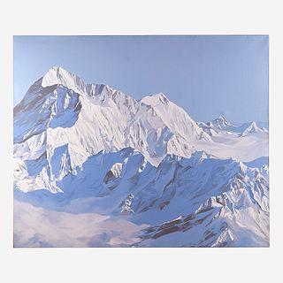 Diane Burko (American, B. 1945), , Makalu - Himalaya
