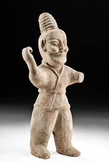 Chinese Western Jin Dynasty Pottery Spear Thrower