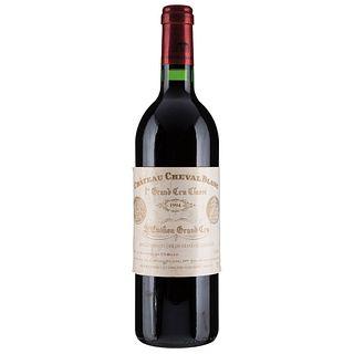Château Cheval Blanc. Cosecha 1994. St. Émilion. 1er. Grand Cru Classé. Nivel: llenado alto.