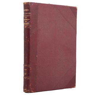 La Herencia de Carranza. Urrea, Blas. México: Talleres Gráficos de la Imprenta Nacional, 1920. 131 p.