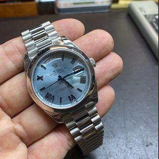 Rolex Day-Date 228206 Platinum Watch