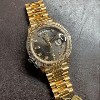 Rolex Day-Date 18K Watch
