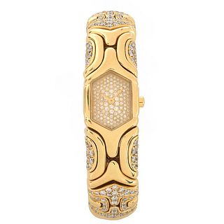 Bulgari Alveare Diamond 18K Watch