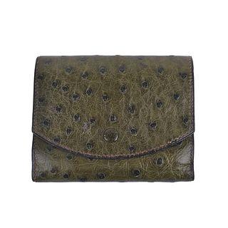 Hermes Ostrich Wallet