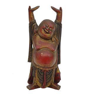 Vintage Chinese Hotei Buddha Figure