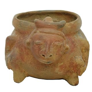 Pre Columbian or Later Ceramic Vessel