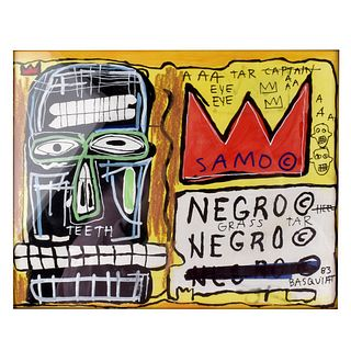 After: Jean-Michel Basquiat (1960 - 1988