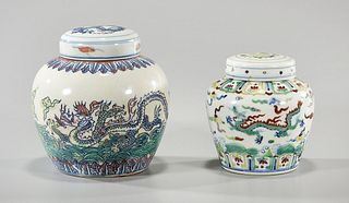 Two Chinese Ginger Jars
