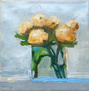ANNE HARNEY '11, English Yellow Roses
