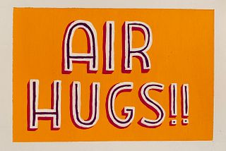 CARLY BLAIS '15, Air Hugs (Covid Connotation Series)