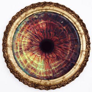 EDIE NADELHAFT '95, Biometric Self-Portrait (Iris No. 3)
