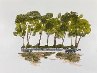 BLANE DE ST. CROIX '79, Movable Landscape