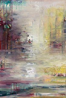 KAREN MCEACHERN-CASS M'93, Meditations on Water II