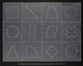 SOL LEWITT, The Four Sides of the Tower for the Community Activities Center, Davenport, Iowa, Plate #05
