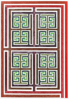 JAMES SIENA, Sequence Two (Red to Green)