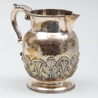 George III Silver Presentation Pitcher