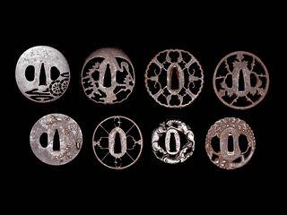 Eight Iron Tsuba