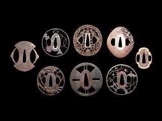 Eight Metal Tsuba