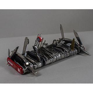 Wenger SA. Navaja gigante modelo 16999 2007 / 16999 2007 giant swiss knife