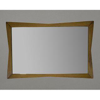 La Malinche, S.A. Espejo rectangular en madera de olmo / Elm wood rectangular mirror
