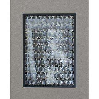 Sin título (Marilyn). Impresión digital con 110 botellas miniatura de Chanel No. 5 / Photo with 110 Chanel No. 5 mini bottles