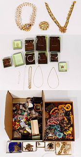 Costume Jewelry and Watch Assortment