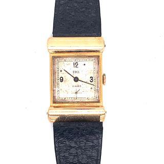 18k 1940s Unique Lugs EBEL Watch