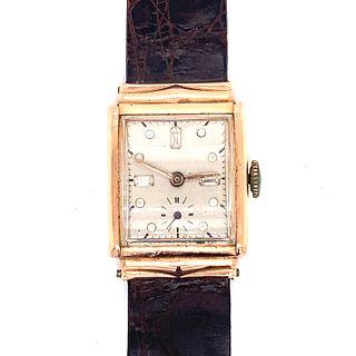 18k Gold Filled Art Deco Watch