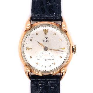 1940's 14k EBEL Watch Unique Lugs