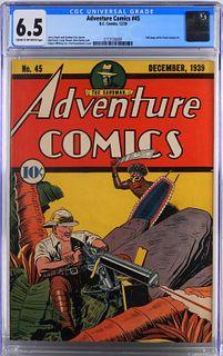 DC Comics Adventure Comics #45 CGC 6.5