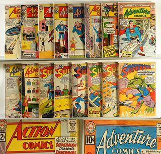 34PC DC Comics Action Adventure Superman Group