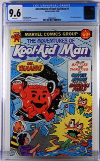 Marvel Comics Adventures of Kool-Aid Man 1 CGC 9.6