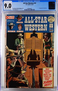 DC Comics All Star Western #10 CGC 9.0