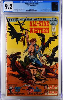DC Comics All Star Western #11 CGC 9.2