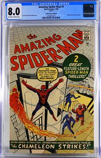 Marvel Comics Amazing Spider-Man #1 GRR CGC 8.0