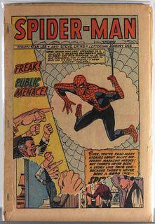 Marvel Comics Amazing Spider-Man #1 Coverless Comp