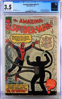 Marvel Comics Amazing Spider-Man #3 CGC 3.5