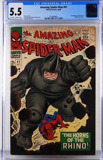 Marvel Comics Amazing Spider-Man #41 CGC 5.5