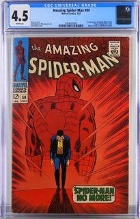 Marvel Comics Amazing Spider-Man #50 CGC 4.5
