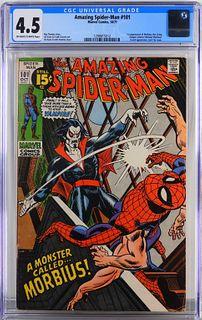 Marvel Comics Amazing Spider-Man #101 CGC 4.5