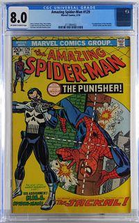 Marvel Comics Amazing Spider-Man #129 CGC 8.0