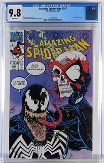 Marvel Comics Amazing Spider-Man #347 CGC 9.8